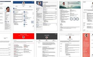 Large Selection of Free CV Templates